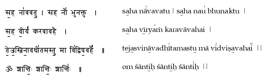 Sahana Vavatu